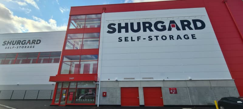 shurgard self storage fit out