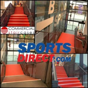 New Staircase For Sports Direct