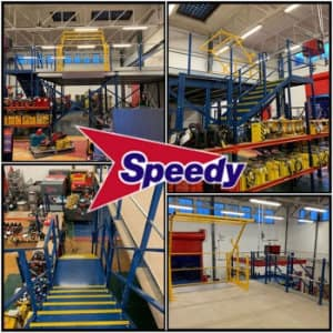 New Mezzanine Floor For Speedy Services