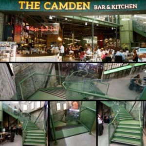 Feature Staircase For The Camden Bar And Kitchen