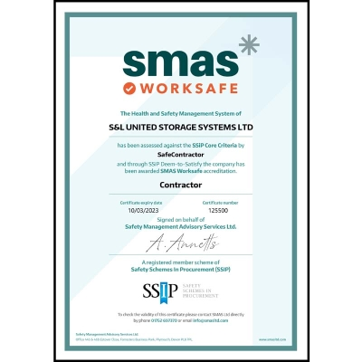 SMAS Worksafe - SSIP Approved