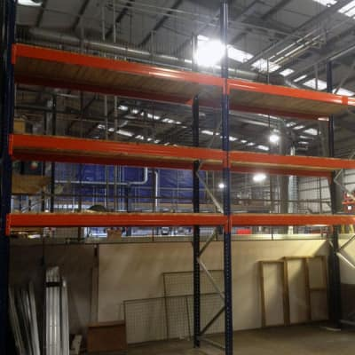 Supply, Delivery And Installation Of Pallet Racking And Anti-Collapse Mesh